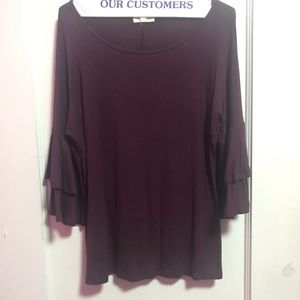 Super Soft Purple Blouse